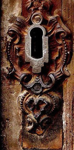 beautiful door key hardware.