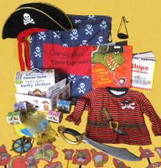 Captain Flinn and the Pirate Dinosaurs Story Sack, Pirate Games, Primary School, Dinosaurs, Puppets, Pirates, Fields, Hat, Garden