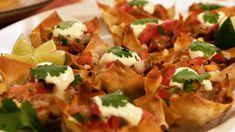 Tex Mex, Tacos, Mexican, Ethnic Recipes, Food, Cilantro, Essen, Meals, Yemek