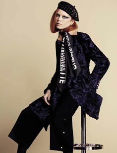 Varya Shutova by Ben Toms Vogue Italia)