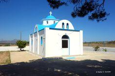 Agios Georgios, zwischen Flughafen und Plaka-Wald