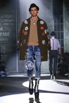 Disquared2 Fashion show Menswear collection Spring Summer 2017 in MilanNYTCREDIT Valerio Mezzanotti