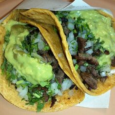 Estos siiii son Tacos
