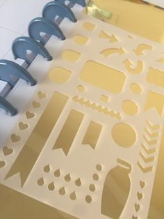 Perfect transparent stencil for all your planner or journaling needs. This is made out of thin, flexible stencil material that wont tare, which makes