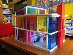 modern doll house - so amazing!
