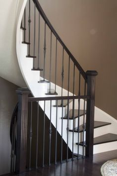 Trendy Iron Stair Balusters Design Home With Railing ~ Iranews