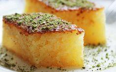 De zoete smaak van Izmir & # Revani & # - Food & Drink The Most Delicious Desserts – Culture Trip Turkish Recipes, Greek Recipes, Indian Food Recipes, Turkish Sweets, Greek Sweets, Turkish Dessert, Easy Cake Recipes, Easy Desserts, Dessert Recipes
