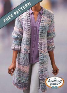 Ladies Cardigan Knitting Patterns, Free Knitting Patterns For Women, Knit Cardigan Pattern, Long Cardigan, Closet Essentials, Chucky, Paisley Design, Paisley Pattern, Apparel Crafting