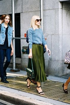 The Personality Skirt Dominating Street Style | WhoWhatWear AU