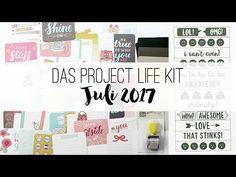 danipeuss.de Project Life Kit | Juli 2017
