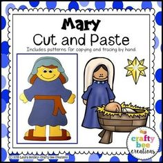 Mary Cut and Paste T