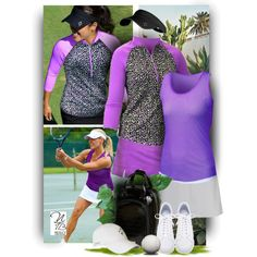 Check out these adorable Tennis Styles available at  Nicole's Tennis Boutique