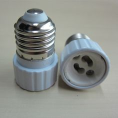 Nueva lámpara de luz bombilla adaptador convertidor LED E27 a GU10 zócalo del sostenedor