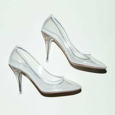 Marc Jacobs' modern day take on Cinderella's glass slippers <3
