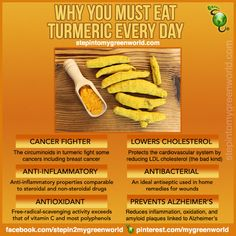 health, Turmeric, why eat it.why protect your food freedom Herbal Remedies, Health Remedies, Natural Remedies, Holistic Remedies, Get Healthy, Healthy Tips, Healthy Foods, Eating Healthy, Healthy Options