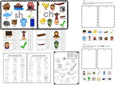 This Digraph Packet is jam packed with wonderful resources to help you students grasp the sounds of CH, SH, TH and WH - clothespin cards, sorts, posters and more!