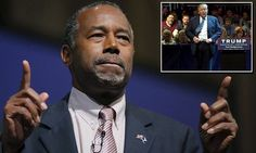 'I think it's gonna hurt him': Ben Carson's cool response as Donald Trump releases 'Friday