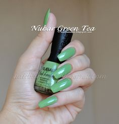 nailbamboo: Nubar Green Tea