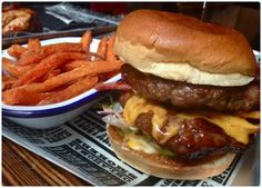 Red's True Barbecue, Manchester - Burger
