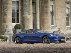 3. Aston Martin Vanquish: Like the English spy who is most famous for driving Aston Martins, the pressure on the Vanquish to live up to expectations is great. But Aston's top-of-the-line grand tourer delivers!