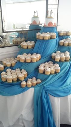 Beach Wedding Sweets table