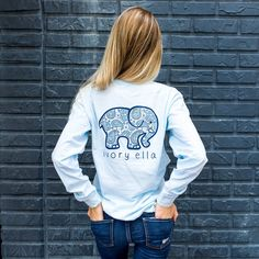 9bc41c1587d18 Classic Fit Sky Blue Paisley Tee