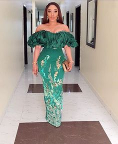 Aso Ebi Styles That Will Inspire You This Weekend - African Fashion Dresses Aso Ebi Lace Styles, African Lace Styles, Lace Dress Styles, African Lace Dresses, Kente Styles, Latest African Fashion Dresses, African Print Fashion, Women's Fashion Dresses, African Style