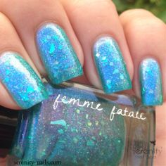 Femme Fatale - Underlight. Color4Nails exclusive. Swatch by Serenity-Nails.com  #cdf