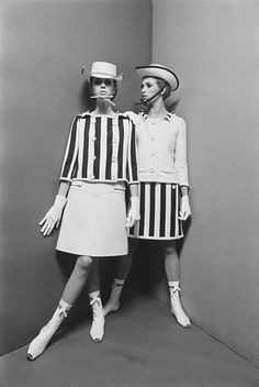 Robes Courrèges, Paris, 1966. Photo: Willy Rizzo.  NO THEN AND NO NO NO NOW
