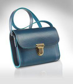Ledertasche für den Alltag / leather bag by dielederwerkstatt via DaWanda.com