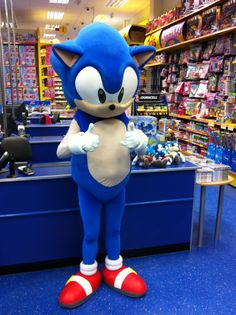 Sonic the Hedgehog at Smyths Toys Superstores
