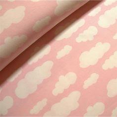 Jersey *Wolken* in rosa