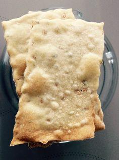 CRACKERS DI RISO E FARRO | Cook di Gusto Crepes, Crackers, Biscotti, Orzo, Antipasto, Finger Foods, Buffet, Brunch, Appetizers