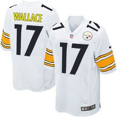 Nike Game Youth Pittsburgh Steelers http://#17 Mike Wallace White NFL Jersey$59.99