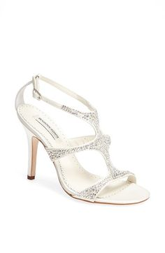 Benjamin Adams London 'Fox' Crystal Embellished Sandal available at #Nordstrom. Love these, too.