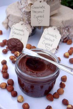WHAT?!?! Recipe for homemade nutella?! Yes, Please!