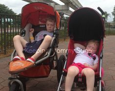"Yes, even ""big kids"" need strollers at Disney World (www.keepingmommysane.com)"