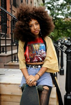 Black girl grunge
