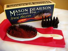 Mason Pearson Brushes Pure Bristle Extra Small B2 White: Amazon.de: Drogerie & Körperpflege EUR 129,90