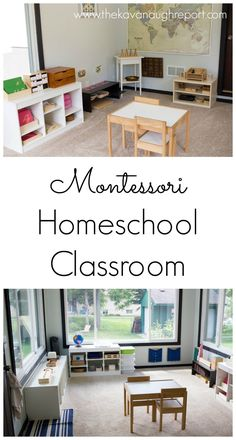 Montessori homeschool classroom, Montessori classroom, Montessori preschool, Montessori primary, Montessori child
