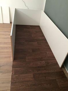 Den perfekten Kaninchenstall für die Wohnung selber bauen - Kaninchenauslauf mit Möbelbauplatten und PVC Boden einfach selber bauen