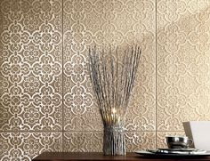New products and trends in architecture and design Furnishings, Flooring, Tiles, Stone, Interior, Wall Tiles, Home Decor, Wall, Stone Art
