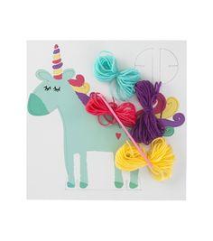 kit crochet licorne