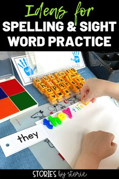 Are you looking for new ways to practice spelling and sight words? Here are several activities you can try in the classroom or at home with your kids. Your kids will have so much fun practicing their words! Spelling Practice, Sight Word Practice, Sight Word Games, Spelling Words, Sight Words, Word Work Activities, Spelling Activities, Vocabulary Games, Vocabulary Strategies