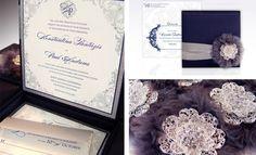 Aceste invitații de nunta in cutie sunt de o înaltă calitate, cu un design unic și elegant, care vor impresiona cu siguranta invitatii dumneavoastra.