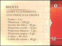 Lomo a la Pimienta con Papas a la Crema - 2 de 2 - Ariel Rodriguez Palacios