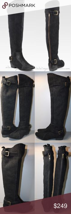 Joie So Many Roads Suede Over the Knee Boots These boots will take you through every festival and beyond! Joie Shoes Over the Knee Boots