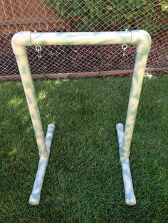 this is a new homemade archery target bag stand made of schedule 40 pvc, can be customized for various sized bags, painted in camo colors, $40.00 plus shipping