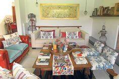 casa de juliana lopez may - Buscar con Google Natural, Google, Table, Furniture, Home Decor, Dining Rooms, Home, Houses, Decoration Home