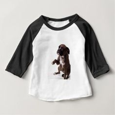 #boxer dog baby T-Shirt - #boxer #puppy #boxers #dog #dogs #pet #pets #cute